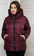 Куртка 856811/4 50 бордовый, фото 1