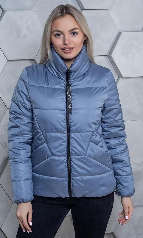 Женская Куртка 334021/4 42 голубой