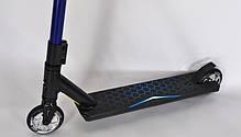Трюковый самокат Explore Cross DELUXE - трюковой самокат, Самокаты для трюков 110 мм, фото 2