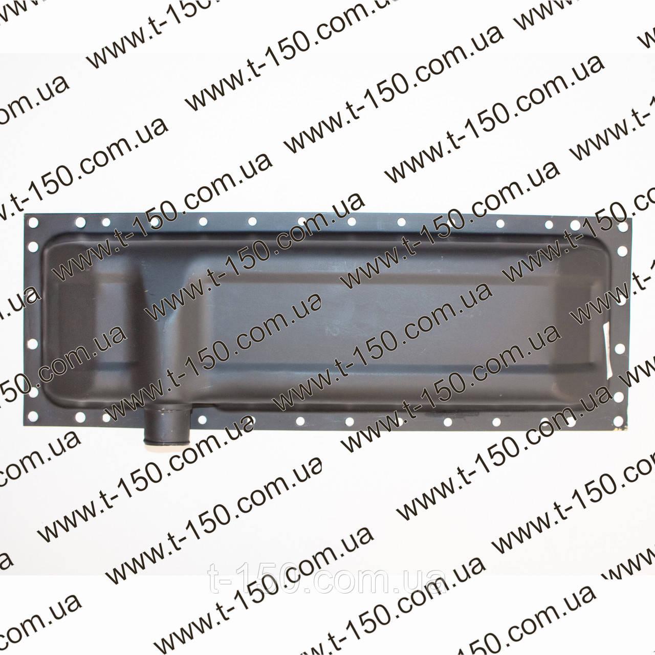Бак (бачок) радиатора ЮМЗ c двигателем Д-65 нижний, (сталь) (36-1301070-01)