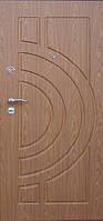 Двері вхідні з зовнішніми МДФ (16мм) накладками