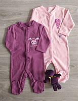Человечек для новорожденных Сердце Польша Комбінезон сліпи на немовлят, фото 1