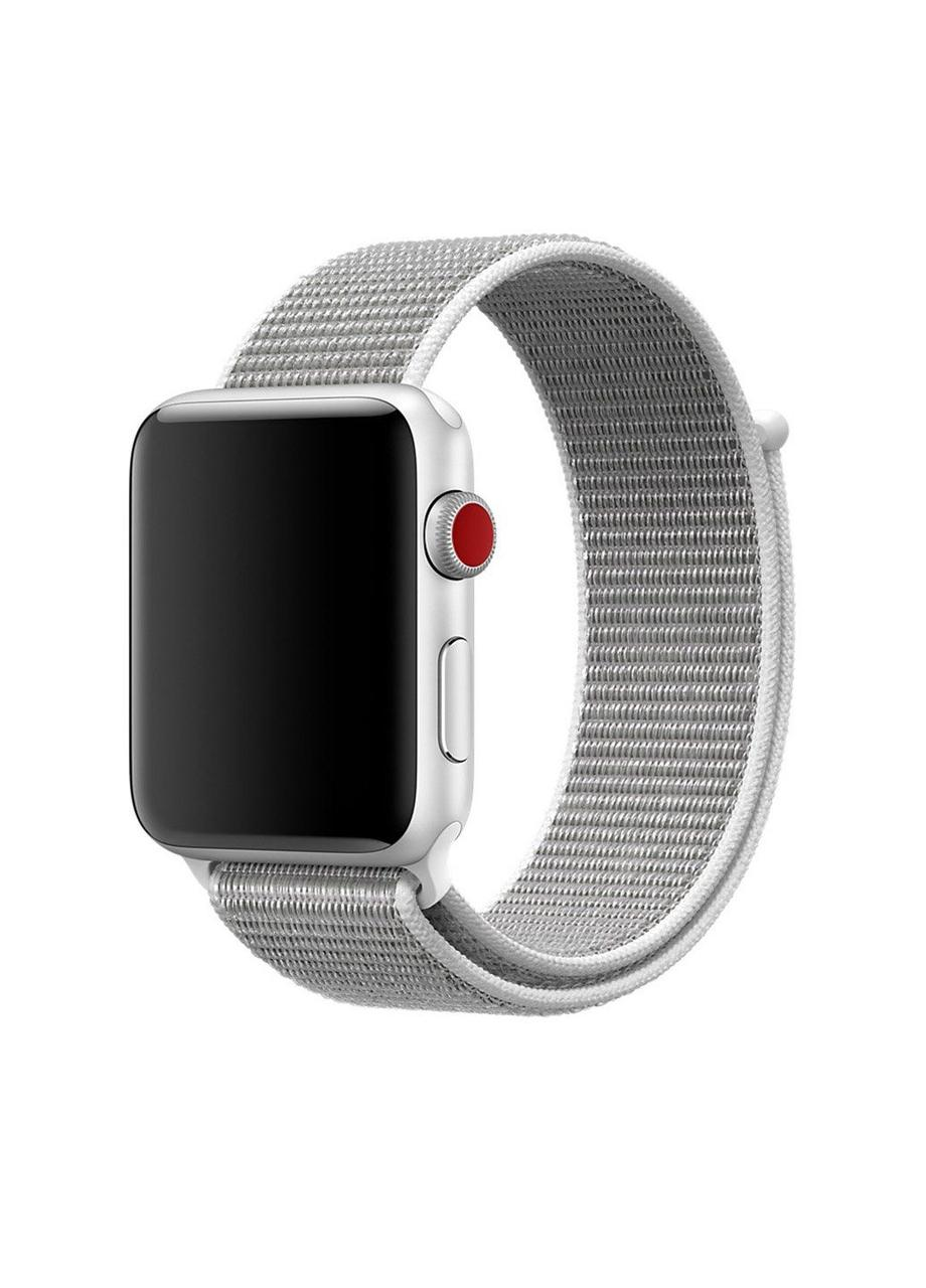 Ремешок Sport loop для Apple Watch 38/40mm нейлоновый ARM Series 5 4 3 2 1 Seashell