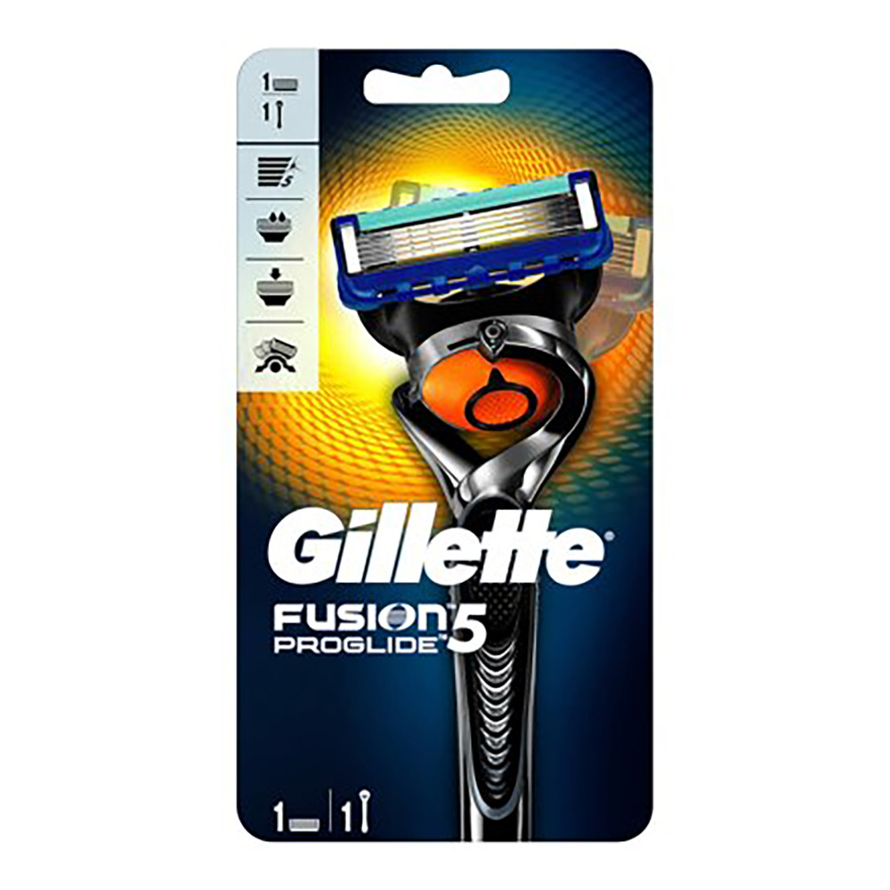 Станок з 1 змінною касетою і підставкою Gillette Fusion Proglide Flexball (7702018390700)