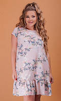 Платье 881834/3 50 розовый