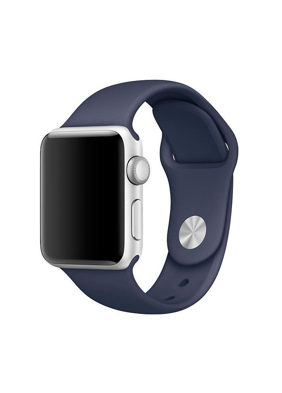Ремешок Sport Band для Apple Watch 38/40mm силиконовый ARM Series 5 4 3 2 1 Dark Blue