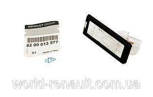 Renault(Original) 8200013577 - Подсветка номерного знака на Рено Сценик III