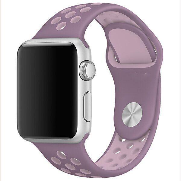 Ремешок ARM силиконовый Nike для Apple Watch 42/44 mm Purple plum