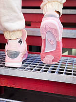 "Кросівки Air Jordan Air 4 Retro Off-Pure White Pink ""Рожеві"", фото 3"