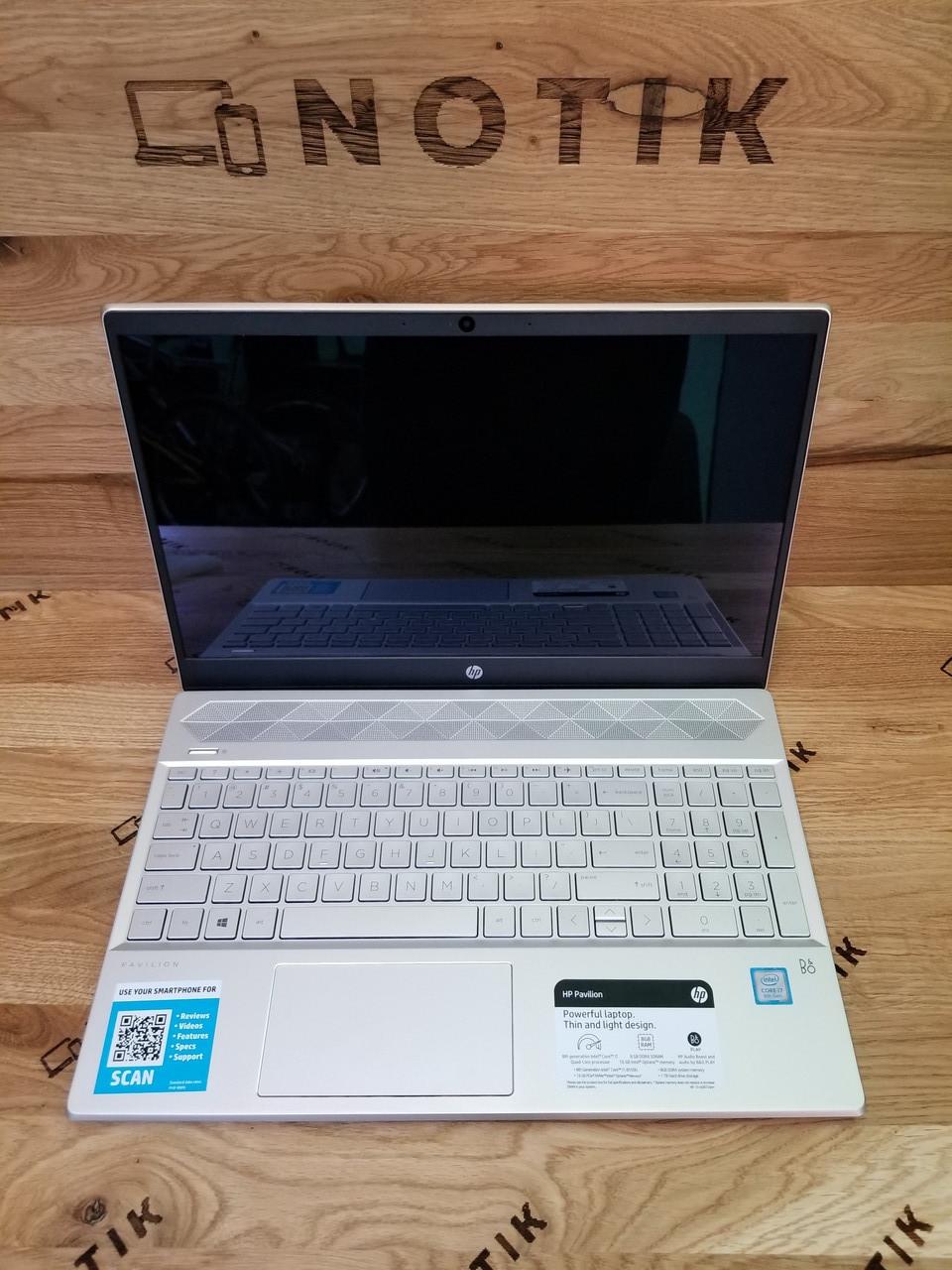 Ультрабук HP Pavilion 15 i7-8550U/8Gb/128ssd+500/ HD Toch IPS NEW