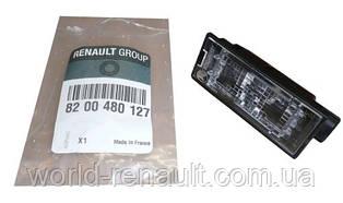 Renault(Original) 8200480127 - Подсветка номерного знака на Рено Сценик III