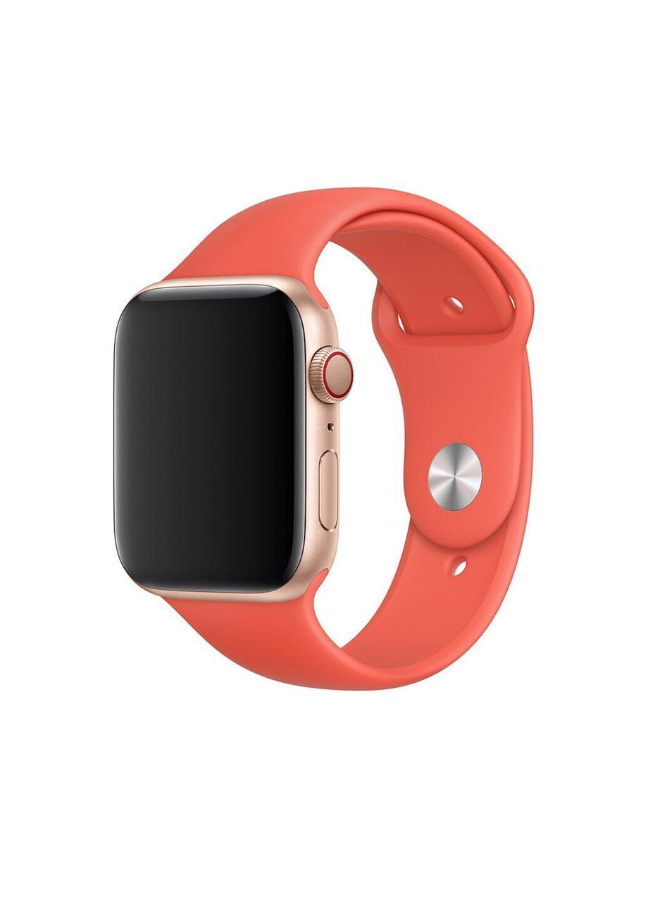Ремешок Sport Band для Apple Watch 42/44mm силиконовый size(s) ARM Series 5 4 3 2 1 Nectraine