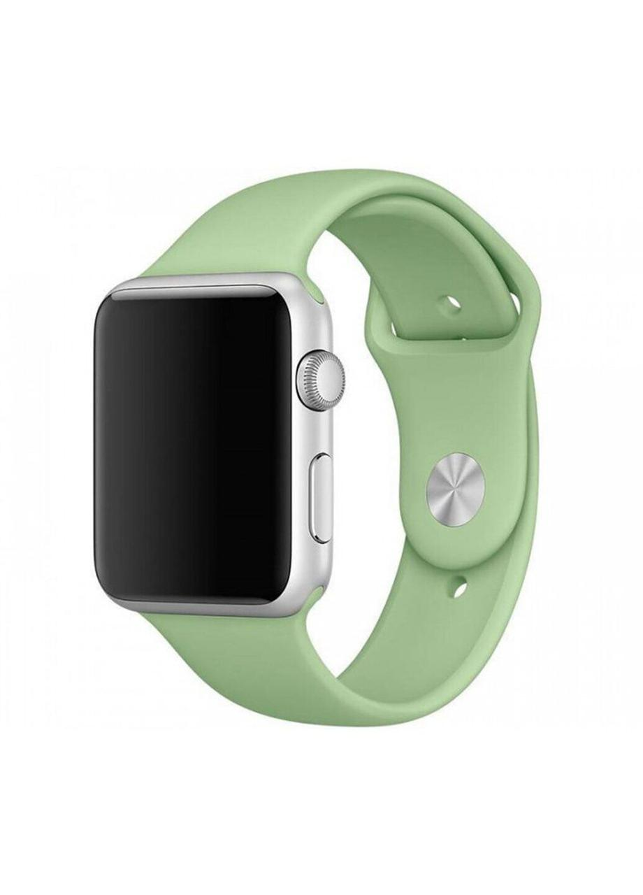 Ремешок Sport Band для Apple Watch 38/40mm силиконовый size(s) ARM Series 5 4 3 2 1 Green