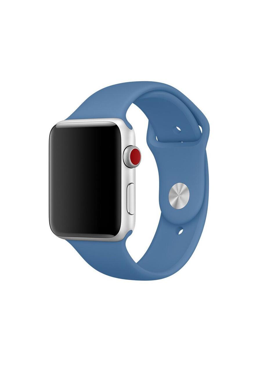 Ремешок Sport Band для Apple Watch 42/44mm силиконовый size(s) ARM Series 5 4 3 2 1 Azure