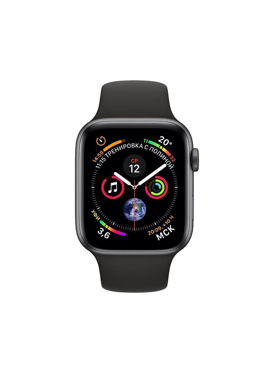 Ремешок Sport Band для Apple Watch 38/40mm силиконовый size(s) ARM Series 5 4 3 2 1 Black