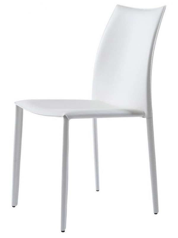 Стул Grand белый (111738) кожа Concepto