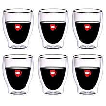 Набор чашек Con Brio с двойными стенками 310 мл упаковка 6 шт ( СВ-8831)