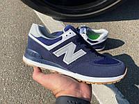 Кроссовки New Balance 574 Blue/Grey, фото 1