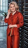 Рубашка 852573/2 50/52 бордовый, фото 1