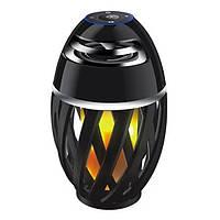 Портативная Bluetooth колонка Flame Atmosphere Speaker LED подсветкой в форме фонаря (2_009563)