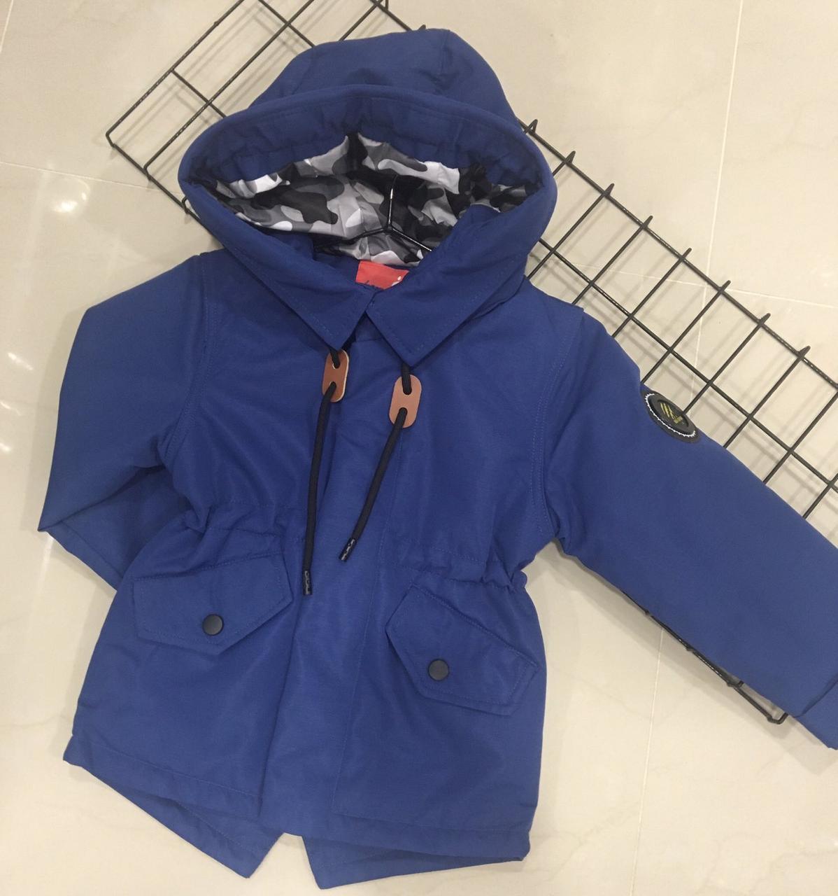 Детская курточка демисезон  для мальчика  (рост 86)