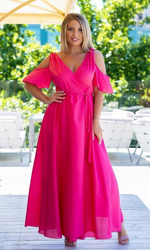 Женское Платье 881818/2 48/52 розовый