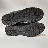 Кроссовки мужские р. 41,42 (Адидас) кожанные Черные, фото 8