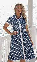 Женское Платье 881774/2 48 голубой