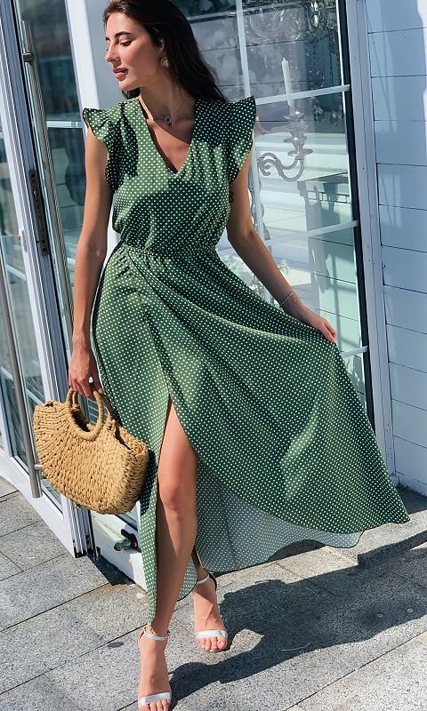 Женское Платье 881771/2 48/52 зеленый