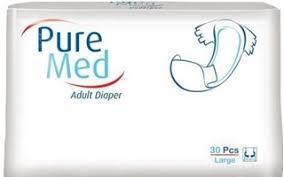 Подгузники для взрослых Puremed,  Large №3 (30 шт) (8697512329082)