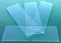 Стекло предметное с нешлифованными краями №50