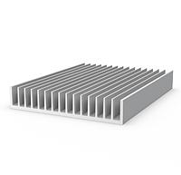 Радиаторный профиль алюминиевый 188х35 без покрытия, фото 1