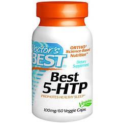 Doctor's s Best 5-HTP – 100 mg - 60 Veggie Caps