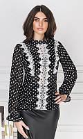Блуза 53087/2 42/44 черный, фото 1