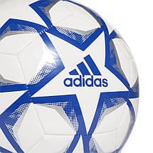 Мяч футбольный Adidas Finale 20 Club №5 FS0250 Белый, фото 2