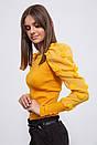 Блуза женская 123R18750 цвет Горчичный, фото 5