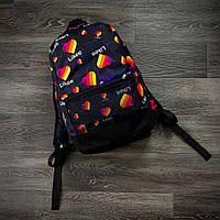 Рюкзак темно-синий с принтом Likee, фото 1