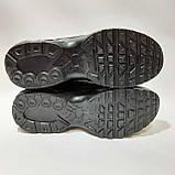 Кроссовки мужские р. 41,42,43,46 из искусственной кожи Черные, фото 8