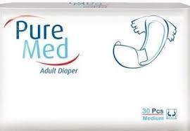Подгузники для взрослых Pure Med Medium №2 (30 шт) (8697512329075)