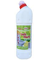 Універсальний гель для туалетної кімнати Grobe Wasche new Lemon 1 л