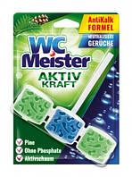 Підвіска для унітаза WC Meister Activ kraft Pine 45 г (З ароматом хвойного лісу)