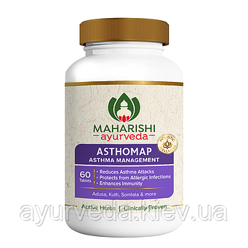 Астхомап - бронхиальная астма, хронический бронхит, бронхиальные, респираторные аллергии, лёгочная эозинофалия