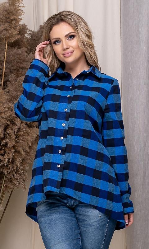 Рубашка 852549/3 50 синий