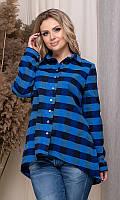 Рубашка 852549/3 50 синий, фото 1