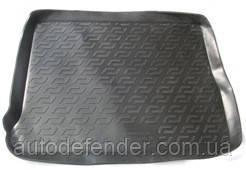 Килимок в багажник для Renault Scenic 2009-, резино/пластиковий (Lada Locker)