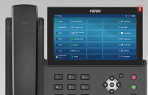 IP відеотелефон Fanvil X7A+CM60, фото 3