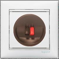 Розетка для акустических систем одиночная Valena 774223 цвет белый