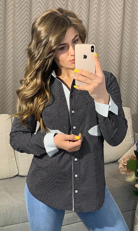 Рубашка 53120 42 черный