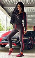 Спортивный костюм 89182/2 50/52 черный, фото 1