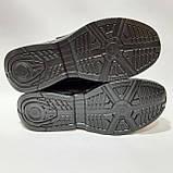 Кроссовки мужские р. 41,44,45 натуральная кожа / Черные, фото 7